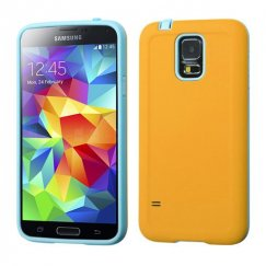 Samsung Galaxy S5 Yellow/Tropical Teal Advanced Armor Case