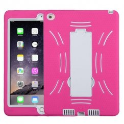 AppleiPad Air 2nd Gen White/Hot Pink Symbiosis Stand Case
