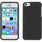 Apple iPhone 5c Rubberized Plastic Protector Case in Black