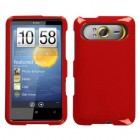 HTC HD7 Solid Flaming Red Phone Protector Cover