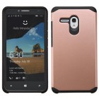 Alcatel One Touch Fierce XL Rose Gold/Black Astronoot Phone Protector Cover