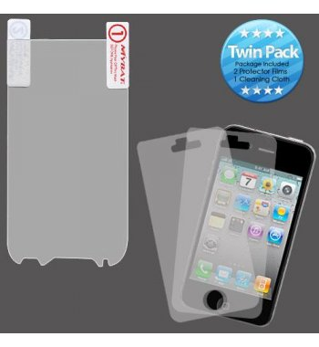 HTC myTouch 4G Slide Screen Protector Twin Pack