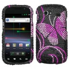 Samsung Nexus S 4G Fairyland Butterfly Diamante Phone Protector Cover