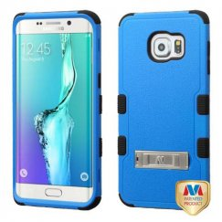 Samsung Galaxy S6 Edge Plus Natural Dark Blue/Black Hybrid Case with Stand