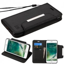 Apple iPhone 7 Black Wallet