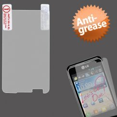 LG Motion 4G Anti-grease LCD Screen Protector/Clear