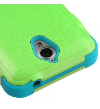 ZTE Obsidian Natural Pearl Green/Tropical Teal Hybrid Case