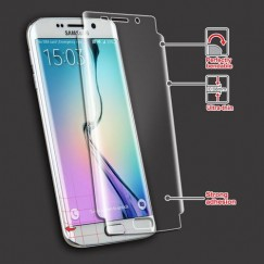 Samsung Galaxy S6 Edge Screen Protector Twin Pack- Strong Adhesion & Ultra-thin