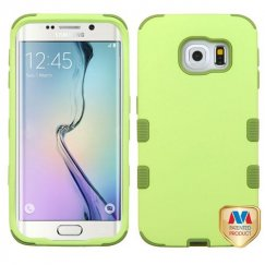 Samsung Galaxy S6 Edge Green Tea/Olive Green Hybrid Case