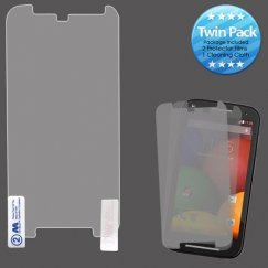 Motorola Moto G 2nd Gen Screen Protector Twin Pack