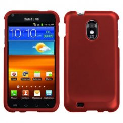 Samsung Epic 4G Touch (Galaxy S2) Titanium Solid Red Case