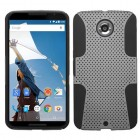 Motorola Nexus 6 Gray/Black Astronoot Phone Protector Cover