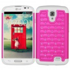 LG F70 Hot Pink/Solid White FullStar Case