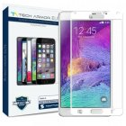 Tech Armor Elite Samsung Galaxy Note 4 Edge to Edge Ballistic Glass Screen Protector - White