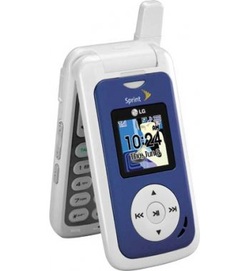LG Fusic Bluetooth Camera Phone with MP3 for Sprint PCS