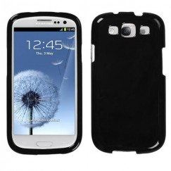 Samsung Galaxy S3 Solid Black Case