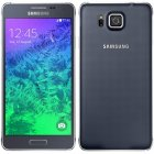 Samsung Galaxy Alpha SM-G850A 4G LTE Charcoal Black Android Smartphone Unlocked GSM