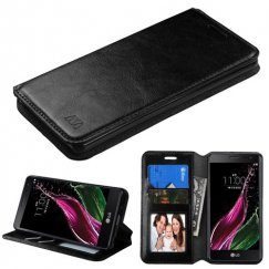 LG Class / Zero Black Wallet with Tray