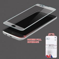 LG K7 Full Coverage Tempered Glass Screen Protector/Translucent Frosted