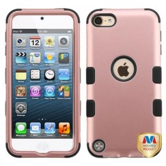 Apple iPod Touch (6th Generation) Rose Gold/Black Hybrid Case