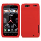 Motorola Droid RAZR Solid Skin Cover (Red)