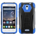 Alcatel One Touch Pop Astro Blue Inverse Advanced Armor Stand Protector Cover