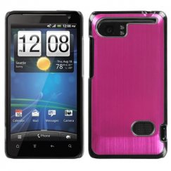 HTC Vivid Hot Pink Cosmo Back Case (Warp speed)