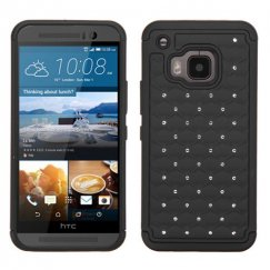 HTC One M9 Black/Black FullStar Case