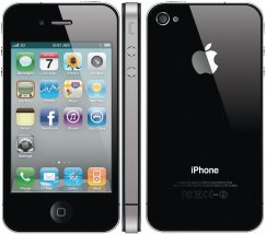 Apple iPhone 4 8GB Smartphone - Straight Talk Wireless - Black