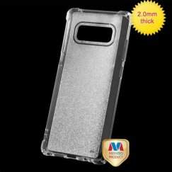 Samsung Galaxy Note 8 Transparent Clear Sheer Glitter Premium Candy Skin Cover