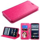 LG G Stylo Hot Pink Wallet with Tray
