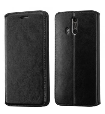 ZTE Axon Pro Black Wallet(with Tray)