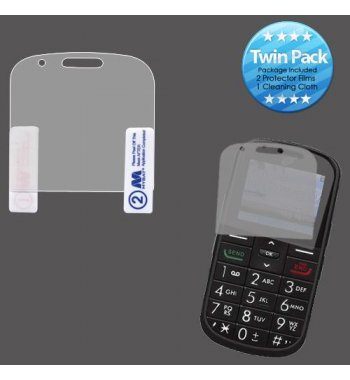 Alcatel One Touch A382G Screen Protector Twin Pack