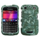 Blackberry 9360 Curve Lizzo Digital Camo/Green Phone Protector Cover