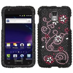 Samsung Galaxy S2 Skyrocket Delight Diamante Case