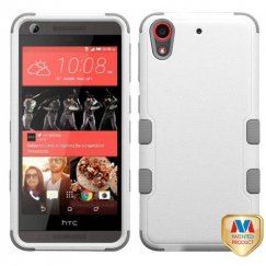 HTC Desire 626 Natural Cream White/Iron Gray Hybrid Case
