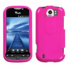HTC myTouch 4G Slide Solid Shocking Pink Phone Protector Cover