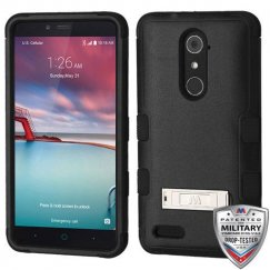 ZTE Grand X Max 2 Natural Black/Black Hybrid Case with Stand
