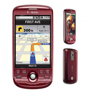 HTC Magic myTouch 3G Bluetooth WiFi Android RED Phone TMobile
