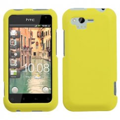 HTC Rhyme Yellow Case - Rubberized