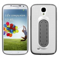 Samsung Galaxy S4 White Snap Tail Stand Case
