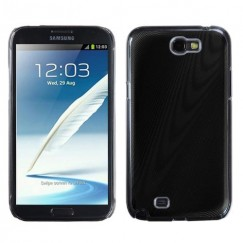 Samsung Galaxy Note 2 Black Cosmo Back Case
