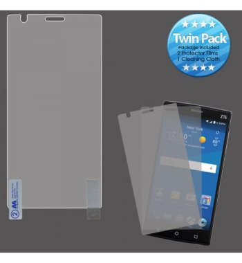 ZTE ZMAX 2 Screen Protector Twin Pack