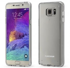 PureGear Slim Shell Case for Note 5- Clear