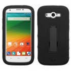 ZTE Imperial 2 Black/Black Symbiosis Stand Case