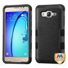Samsung Galaxy On5 Natural Black/Black Hybrid Phone Protector Cover