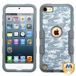 Apple iPod Touch (6th Generation) Universal Camouflage/Iron Gray Hybrid Case