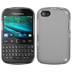 Blackberry 9720 Semi Transparent Smoke Candy Skin Cover - Rubberized
