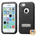 Apple iPhone 5/5s Natural Black/Black Hybrid Protector Cover (with Stand)
