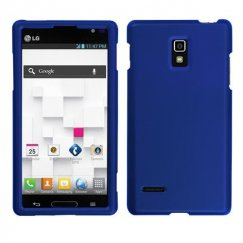 LG Optimus L9 Titanium Solid Dark Blue Case